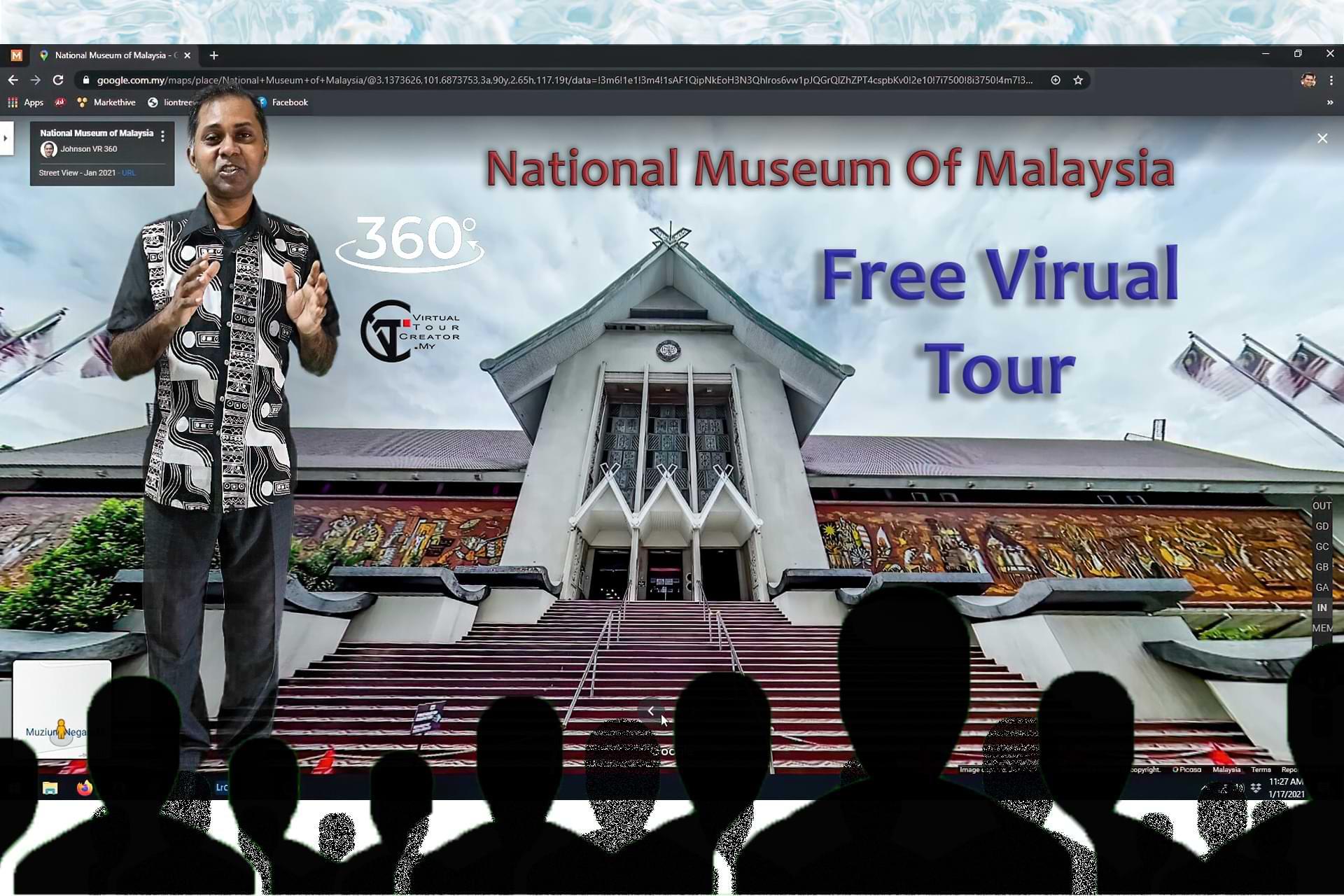 National Museum of Malaysia FREE Virtual Tour
